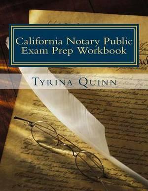 California Notary Public: Exam Prep Workbook