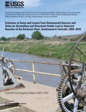 Estimates of Gains and Losses from Unmeasured Sources and Sinks for Streamflow and Dissolved-Solids Load in Selected Reaches of the Arkansas River, Southeastern Colorado, 2009?2010