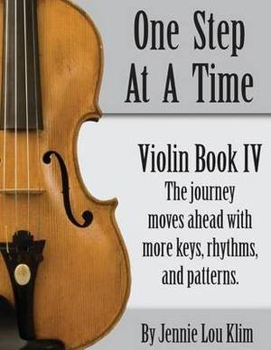 One Step at a Time: Violin Book IV