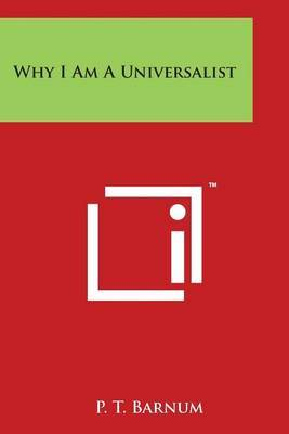Why I Am a Universalist