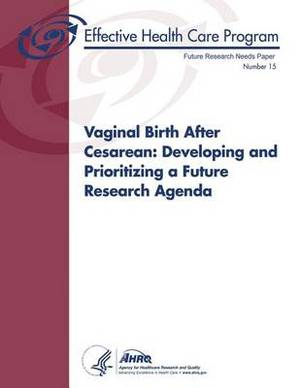 Vaginal Birth After Cesarean: Developing and Prioritizing a Future Research Agenda: Future Research Needs Paper Number 15