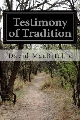 Testimony of Tradition