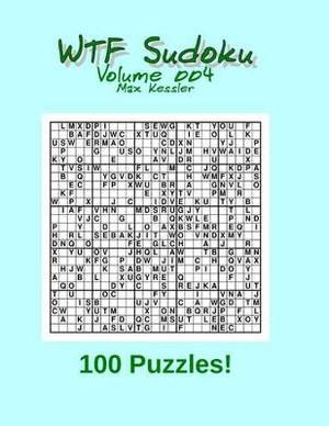 Wtf Sudoku Vol 004