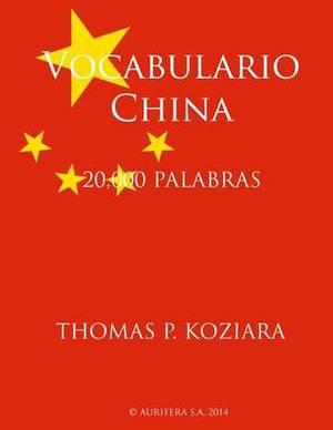 Vocabulario China