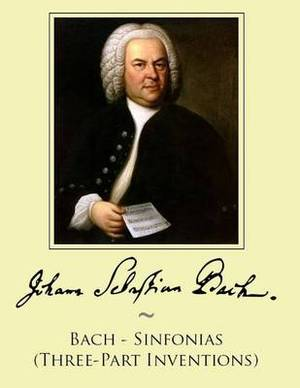 Bach - Sinfonias (Three-Part Inventions)