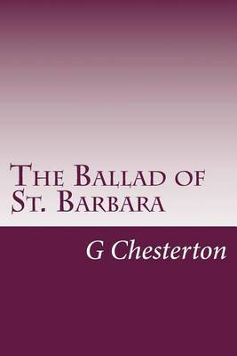 The Ballad of St. Barbara