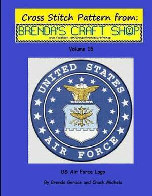 US Air Force LOGO - Cross Stitch Pattern: Cross Stitch Pattern from Brenda's Craft Shop