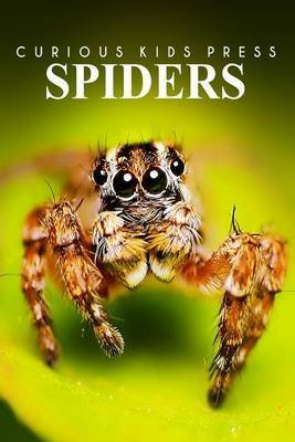 Spiders - Curious Kids Press: Kids Book about Animals and Wildlife, Children's Books 4-6