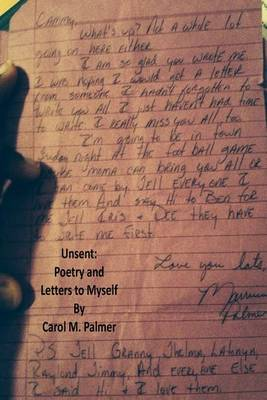 Unsent: Poetry and Letters to Myself