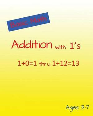 Basic Math Addition with 1's