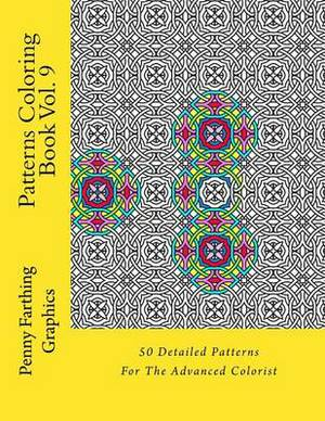 Patterns Coloring Book Vol. 9