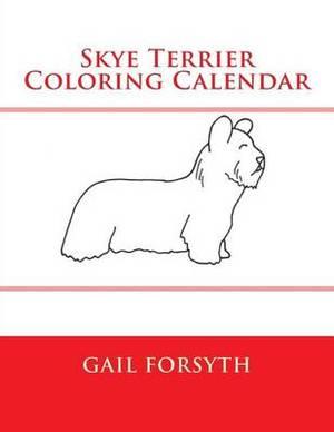 Skye Terrier Coloring Calendar