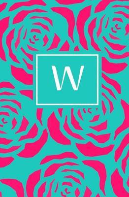 W: Personalized Initial Journal/Notebook/Diary