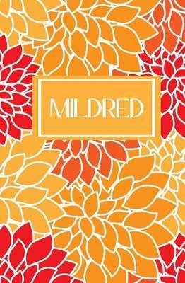 Mildred: Personalized Name Journal