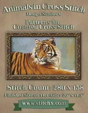 Animals in Cross Stitch: Design Number 6