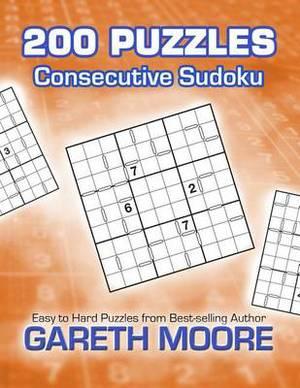 Consecutive Sudoku: 200 Puzzles