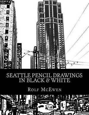 Seattle Pencil Drawings in Black & White
