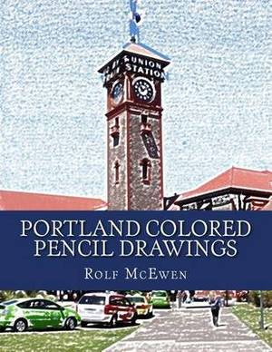 Portland Colored Pencil Drawings