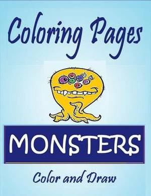 Coloring Pages: Monsters