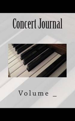 Concert Journal: Piano Cover