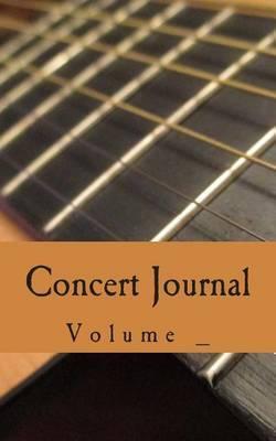 Concert Journal: Guitar Cover