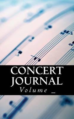 Concert Journal: Sheet Music Cover