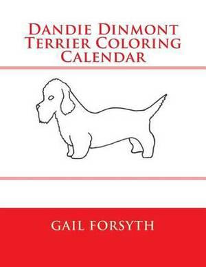 Dandie Dinmont Terrier Coloring Calendar