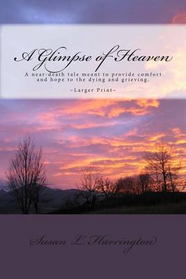 A Glimpse of Heaven: A Near Death Experience Tale (Larger Print)