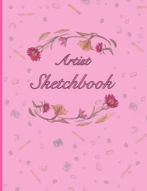 Artist Sketchbook: Pink Flower