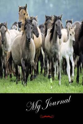 My Journal: (Wild Horses) Lined Diary / Journal # 4