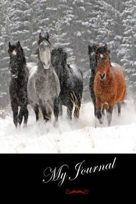 My Journal: (Wild Horses) Lined Diary / Journal # 9