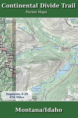 Continental Divide Trail Pocket Maps - Montana/Idaho