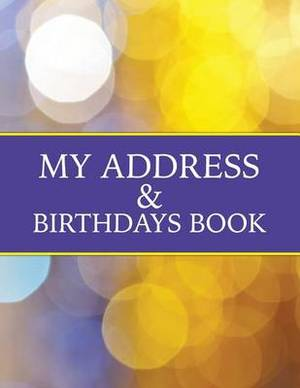 My Address & Birthdays Book