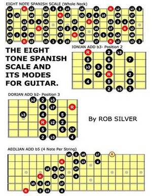 The Eight Tone Spanish Scale and Its Modes for Guitar
