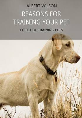 Reasons for Training Your Pet: Effect of Training Pets