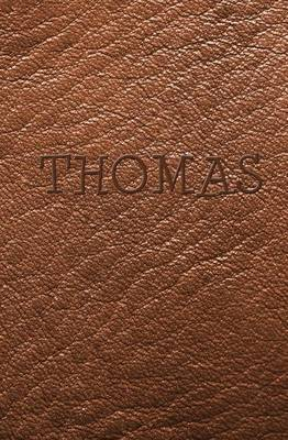 Thomas: Brown Leather Look Personal Journal