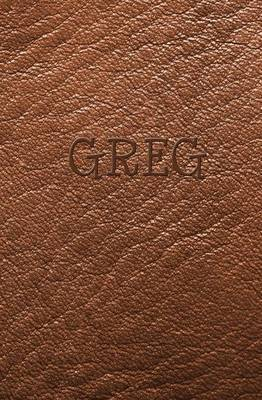 Greg: Personalized Name Journal
