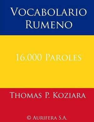 Vocabolario Rumeno