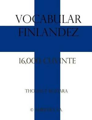 Vocabular Finlandez