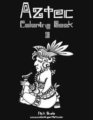 Aztec Coloring Book 3