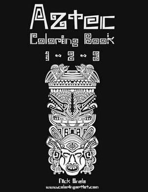 Aztec Coloring Book 1, 2 & 3