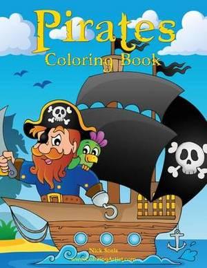 Pirates Coloring Book 1