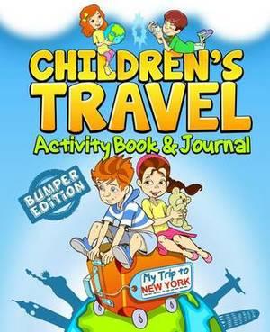 Children's Travel Activity Book & Journal  : My Trip to New York