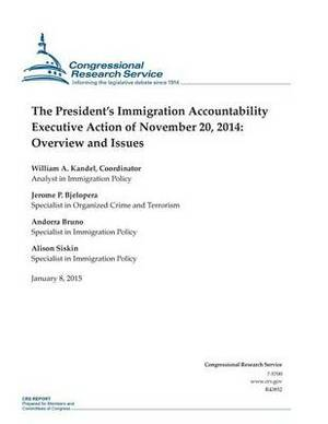 The President's Immigration Accountability Executive Action of November 20, 2014: Overview and Issues