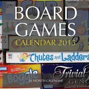 Board Games Calendar 2015: 16 Month Calendar