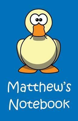 Matthew's Notebook