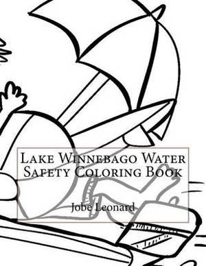 Lake Winnebago Water Safety Coloring Book