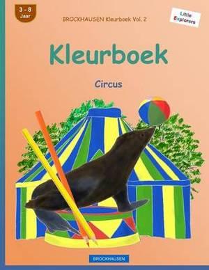 Brockhausen Kleurboek Vol. 2 - Kleurboek: Circus