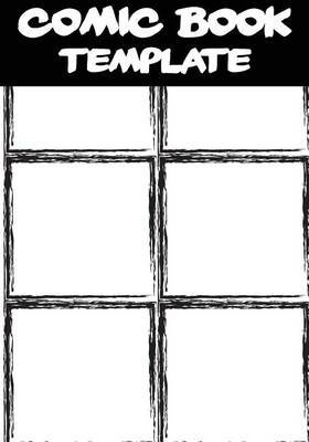 Magrudy.com - Comic Book Template: Blank Comic Book - Basic 6 Panel ...