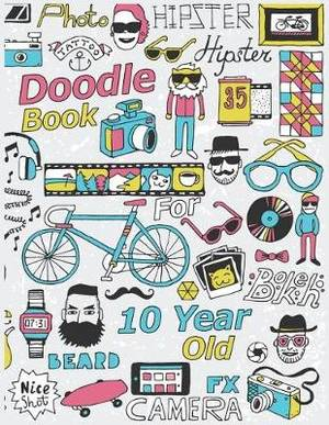 Doodle Book For 10 Year Old: Blank Doodle Draw Sketch Books
